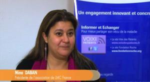 Leucémie Myéloïde Chronique : l'engagement de Mina Daban