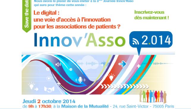 Innov'Asso : le digital, une voie d'accès à l'innovation pour les associations de patients ?