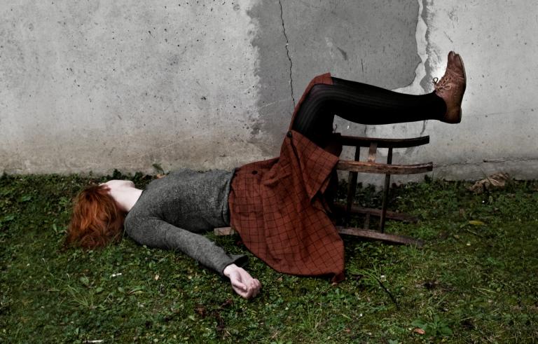 Sclérose en plaques : les photos de Dorothy Shoes témoignent de sa colère