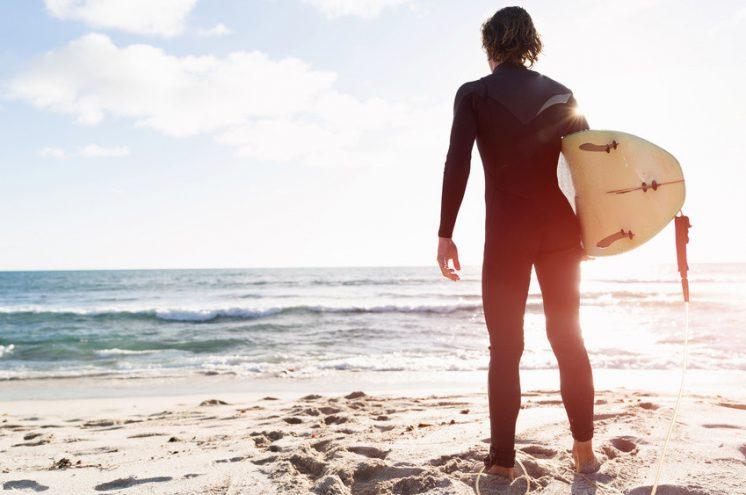 John, surfeur, victime d'un carcinome