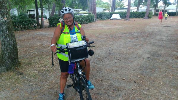 Fibromyalgie : La Rochelle- Bayonne en vélo, challenge gagné pour Carole !