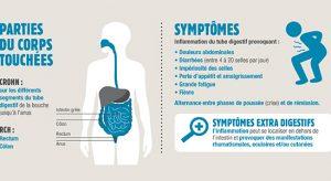 Une infographie pour sensibiliser aux MICI