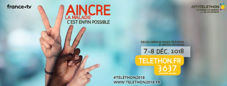 Vaincre les maladies, c'est l'objectif de la 32e édition du Téléthon !