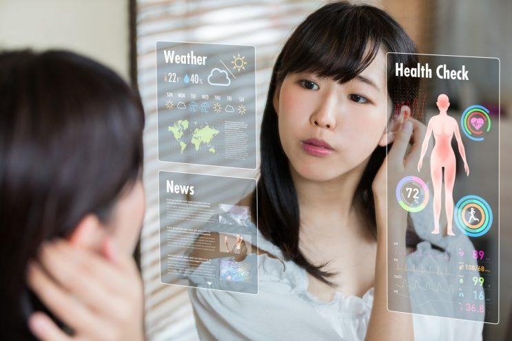 Bientôt des miroirs connectés dans nos salles de bains ?