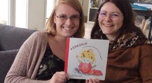 """Deux mamans se lancent dans un livre pour expliquer à leurs enfants la vie avec une """"Krrronik"""""""